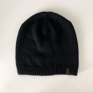 Black Dinadi Nepal merino hat
